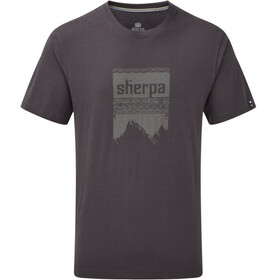 Sherpa Khangri Shortsleeve Shirt Men grey